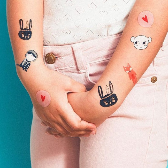50 best custom temporary tattoos designs meanings 2018 for Funny tattoos ideas