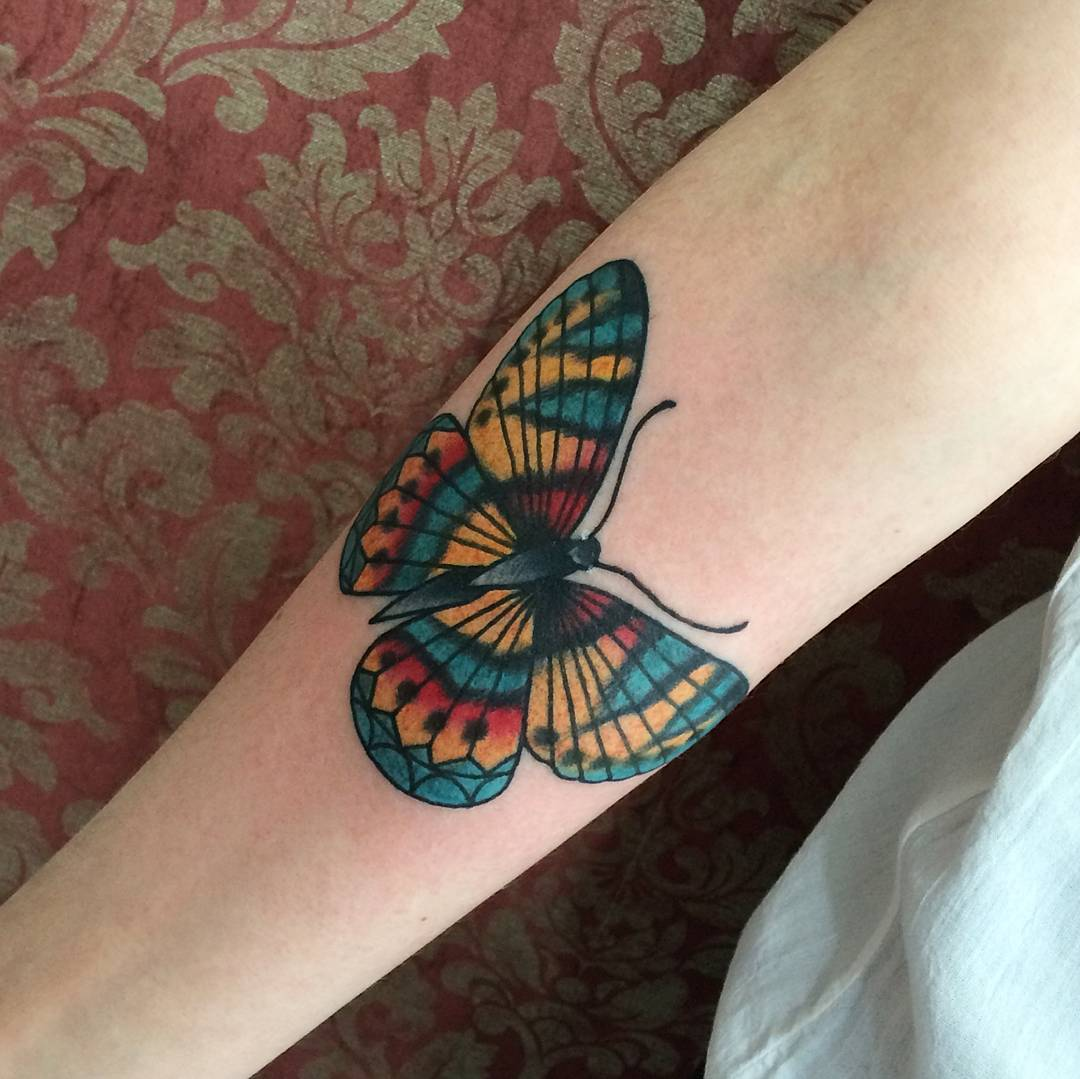 110 best butterfly tattoo designs meanings cute for Butterfly tattoos gallery