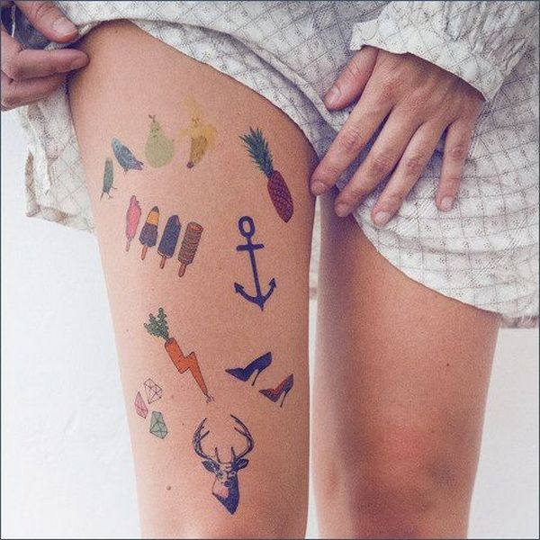 45 photos of extraordinary and funny custom temporary tattoos for Custom henna tattoo