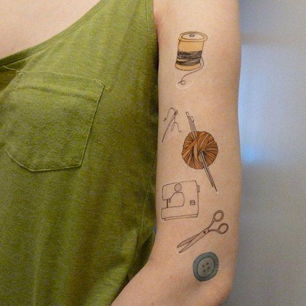 Custom Temporary Tattoo