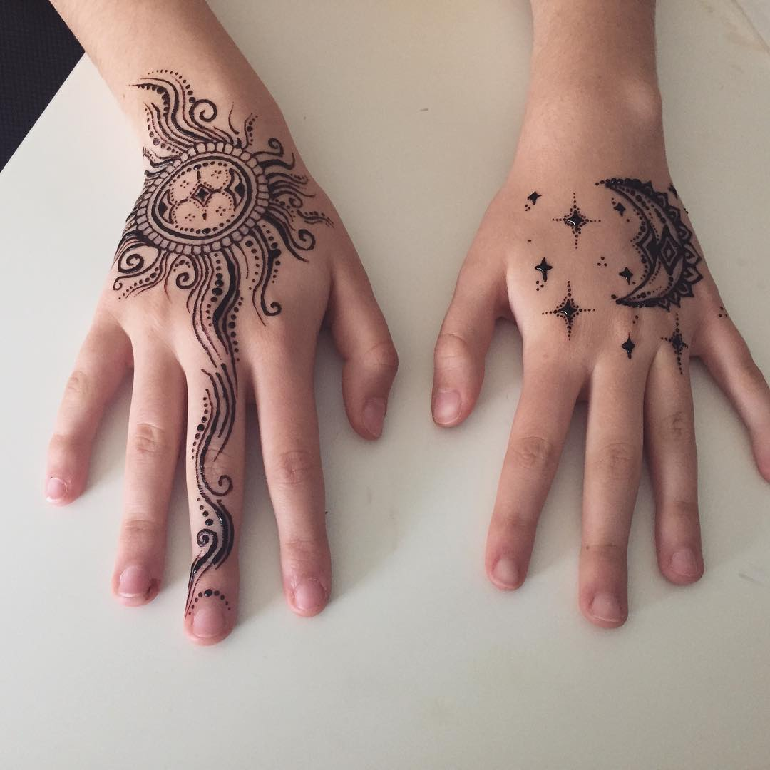 how long do henna tattoos last 75 inspirational designs 2018. Black Bedroom Furniture Sets. Home Design Ideas