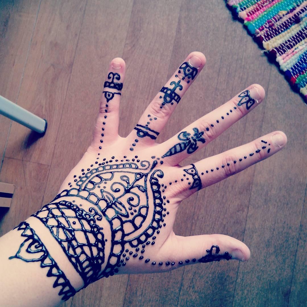 Make Your Henna Tattoo Last Longer Using Saniderm