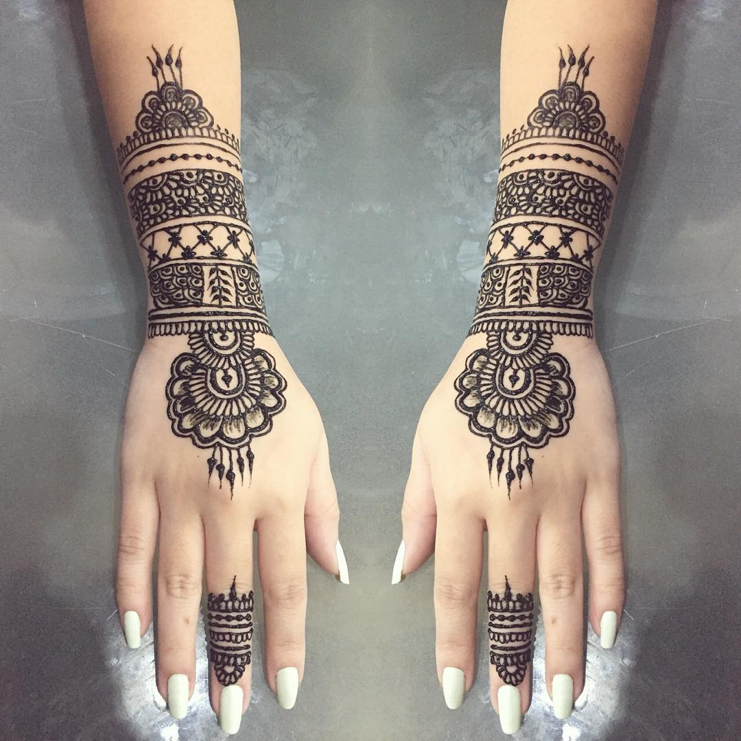 Mehndi Tattoo Designs Meanings : How long do henna tattoos last inspirational designs