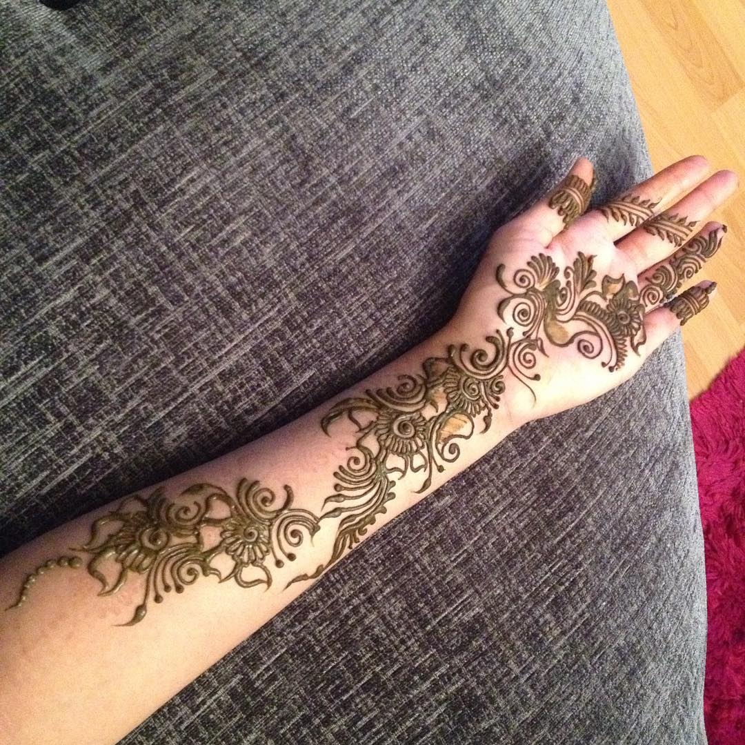 How long do henna tattoos last 75 inspirational designs for Henna tattoo art