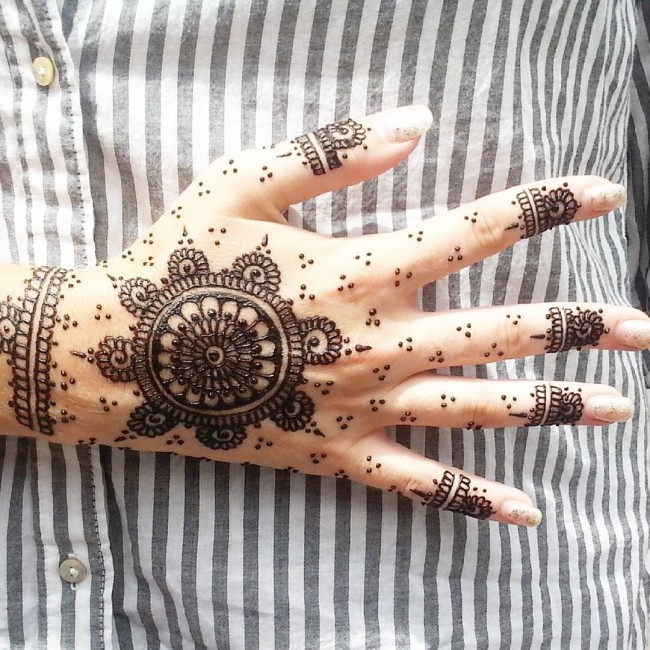 b796b34ecc5eb How Long do Henna Tattoos Last - 75+ Inspirational Designs (2019)