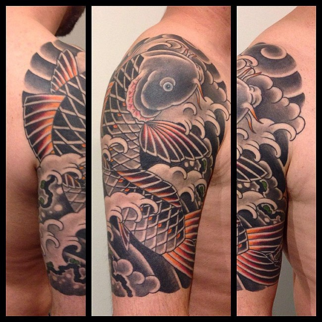 65 japanese koi fish tattoo designs meanings true for Koi fish color meaning chart