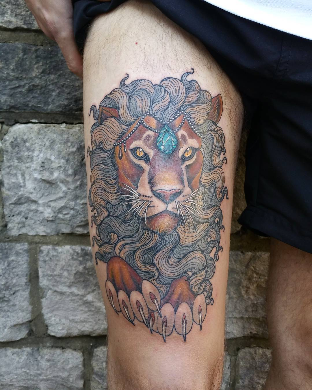 55 Amazing Wild Lion Tattoo Designs And Meaning