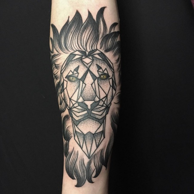 Favoloso 110+ Best Wild Lion Tattoo Designs & Meanings - Choose Yours (2018) JP62