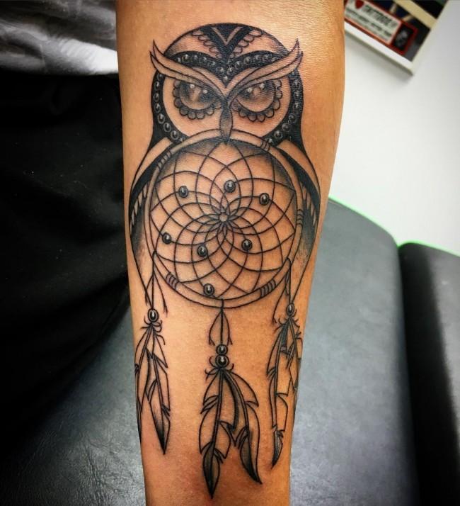 owl tattoo (3)