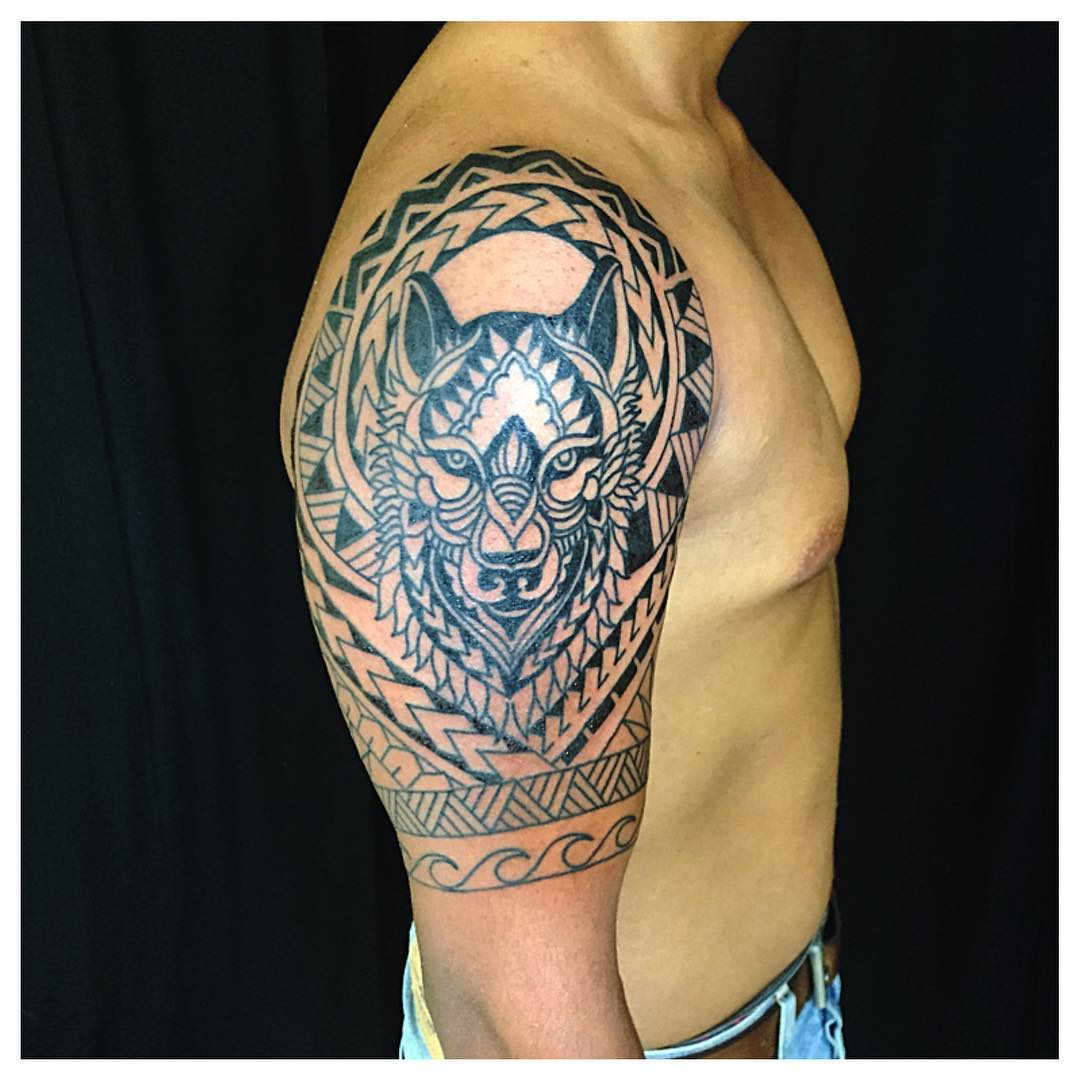 38 traditional tribal tattoo for men and women for Tribal warrior tattoos