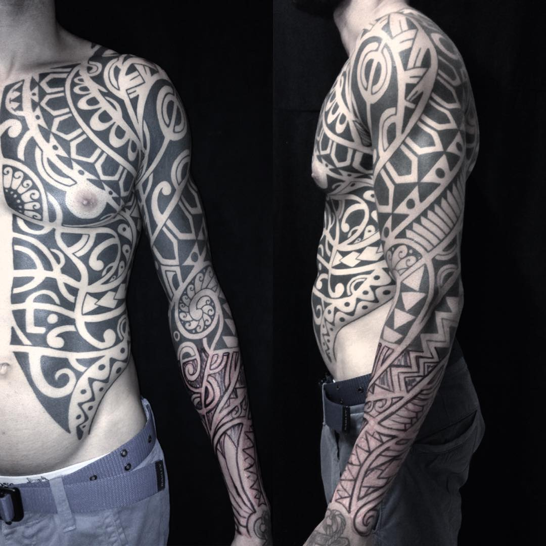 38 Traditional Tribal Tattoo For Men And Women