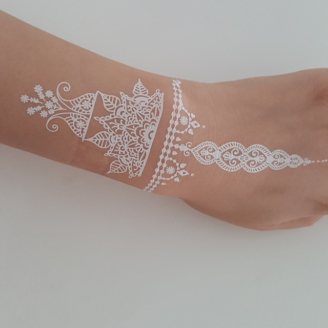 25 Unique And Elegant White Tattoo Designs And Ideas