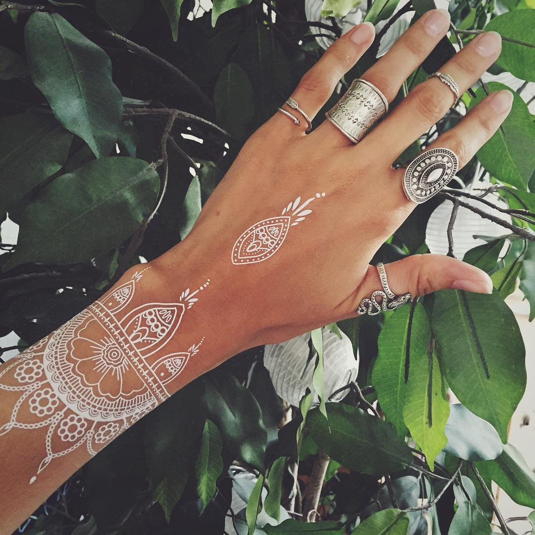 95 Best White Tattoo Designs Meanings Best Ideas Of 2018
