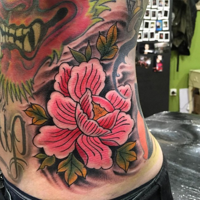 85 Best Peony Tattoo Designs Meanings Powerful Artistic 2019