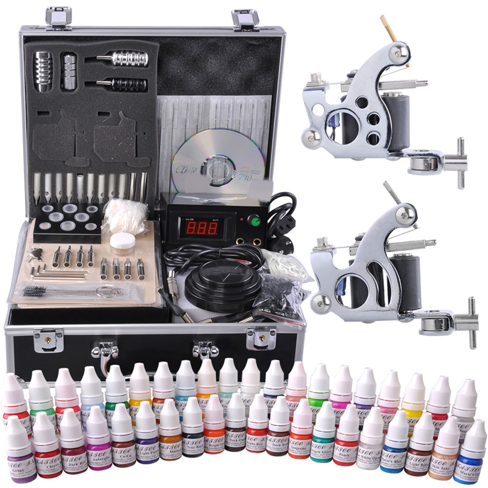 100 tattoo kits for sale cheap tattoo machines for Tattoo supplies ebay