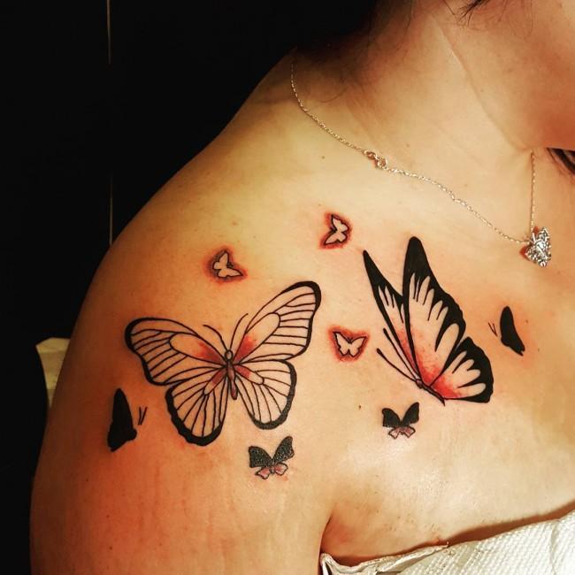 Shoulder tattoos for girls (1)
