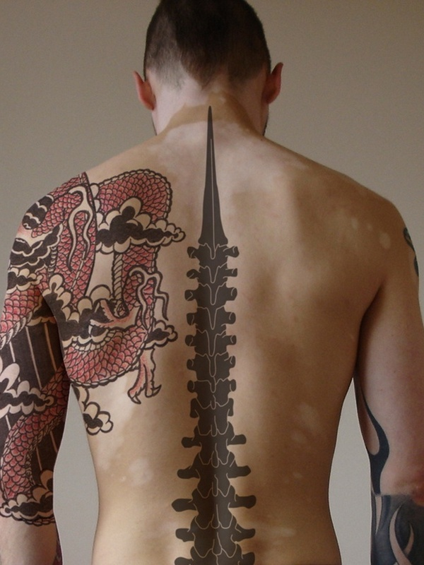 75 best spine tattoos for men and women designs meanings 2018. Black Bedroom Furniture Sets. Home Design Ideas