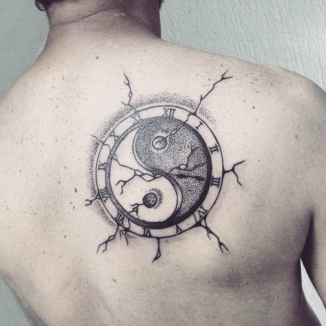 Yin Yang Tattoo Dark Skin: 45 Creative Images Of Yin Yang Tattoos