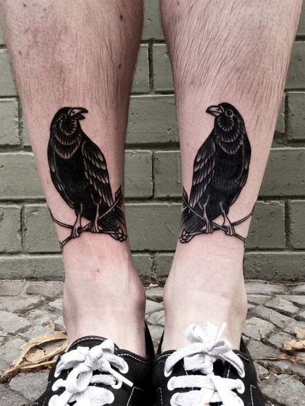 ankle tattoo