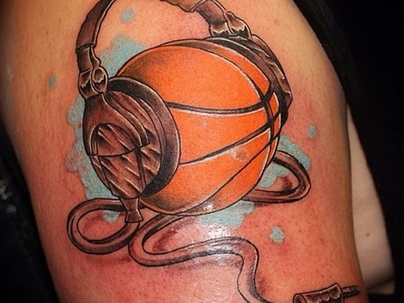 Basketball drawings tattoos