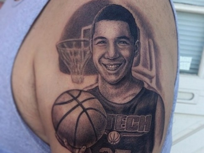 basketball tattoo