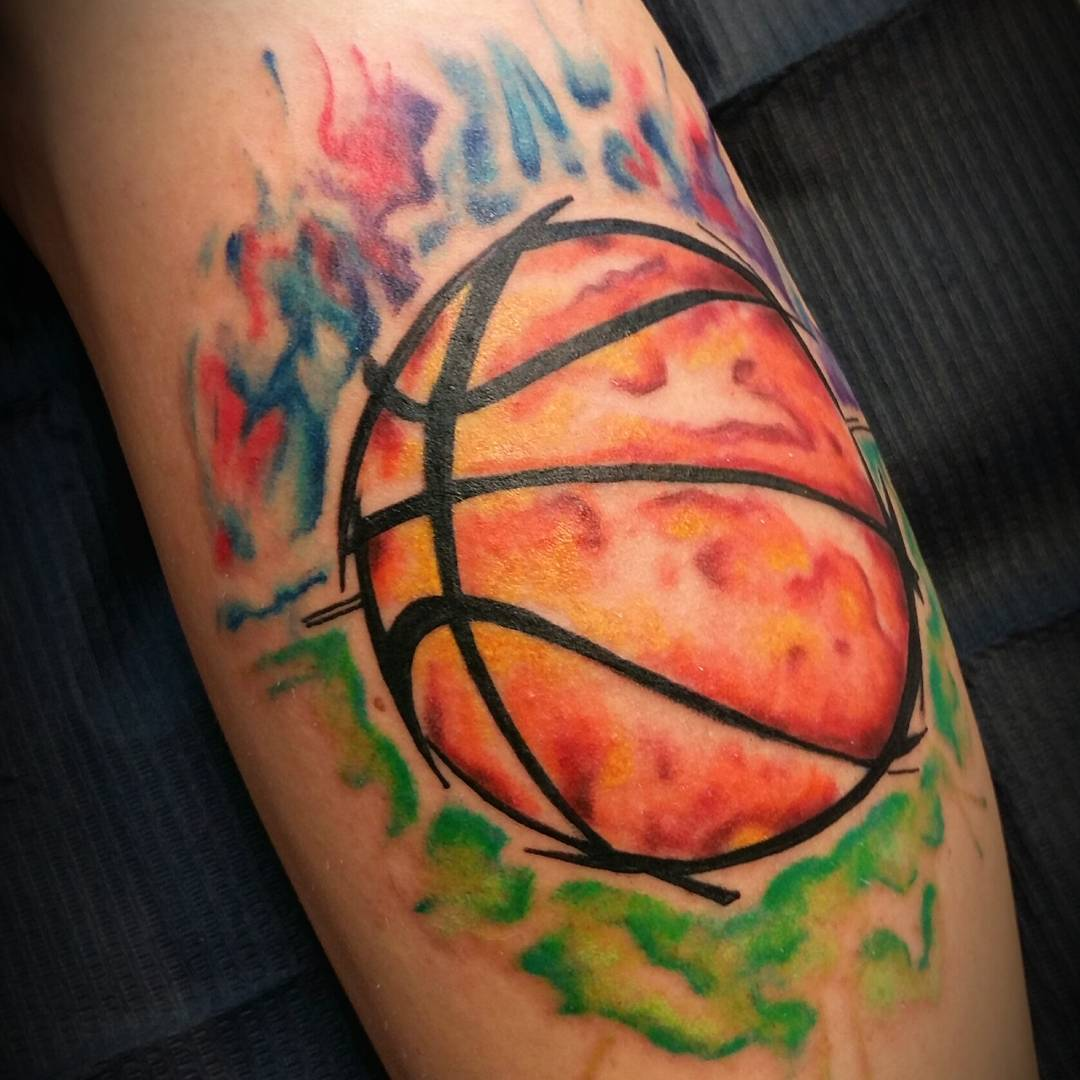 Tattoo Designs: 45+ Best Basketball Tattoos Designs & Meanings