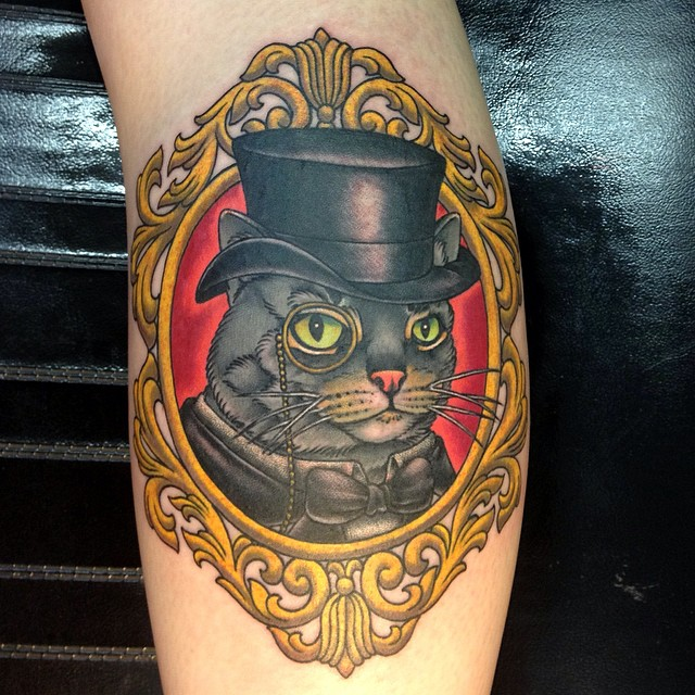 45 Cute Cat Tattoo Designs And Ideas