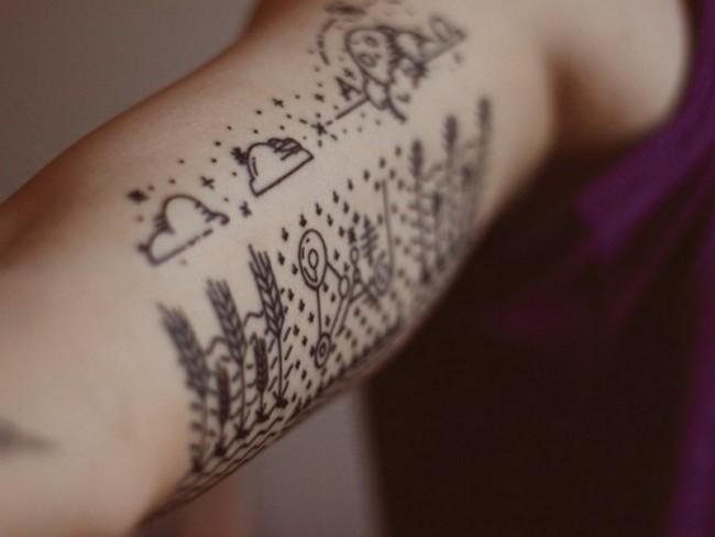 Cloud Tattoo