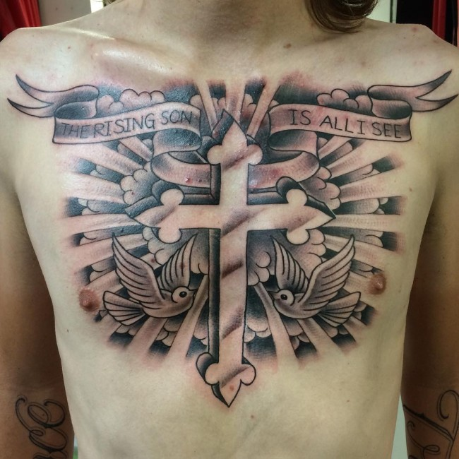 Cross Tattoo 15