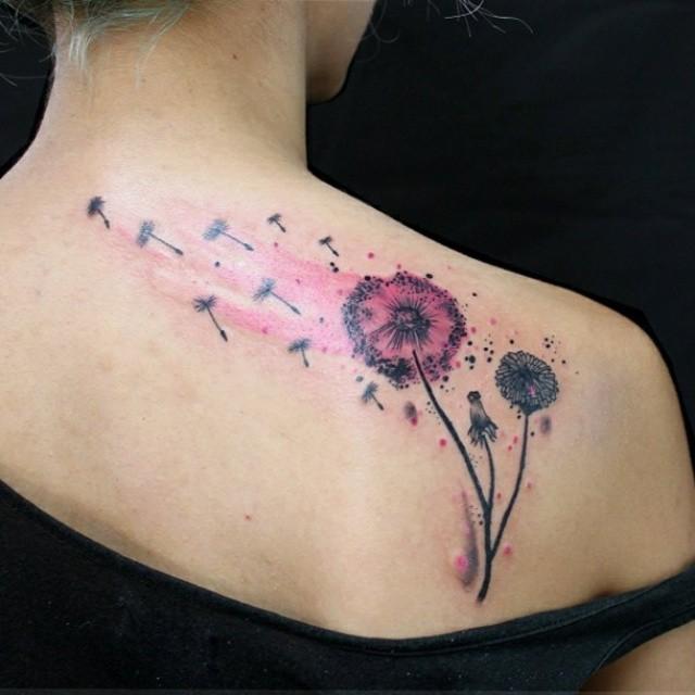 65 Best Dandelion Tattoos Designs Meanings Flowering Plant 2018