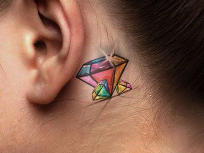 75+ best diamond tattoo designs & meanings - treasure for you (2018)