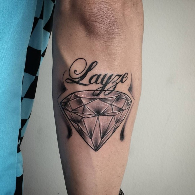 75+ Best Diamond Tattoo Designs & Meanings - Treasure for ...
