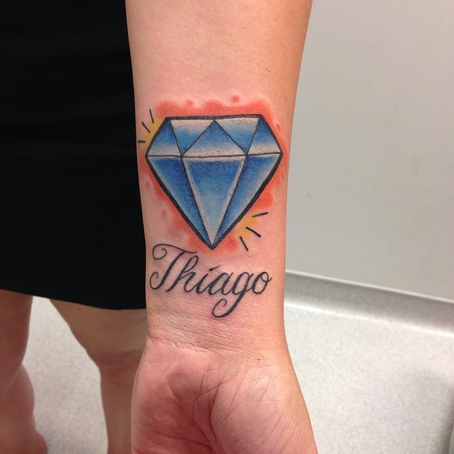 55 Luxury Diamond Tattoo designs and meaning - Treasure ...