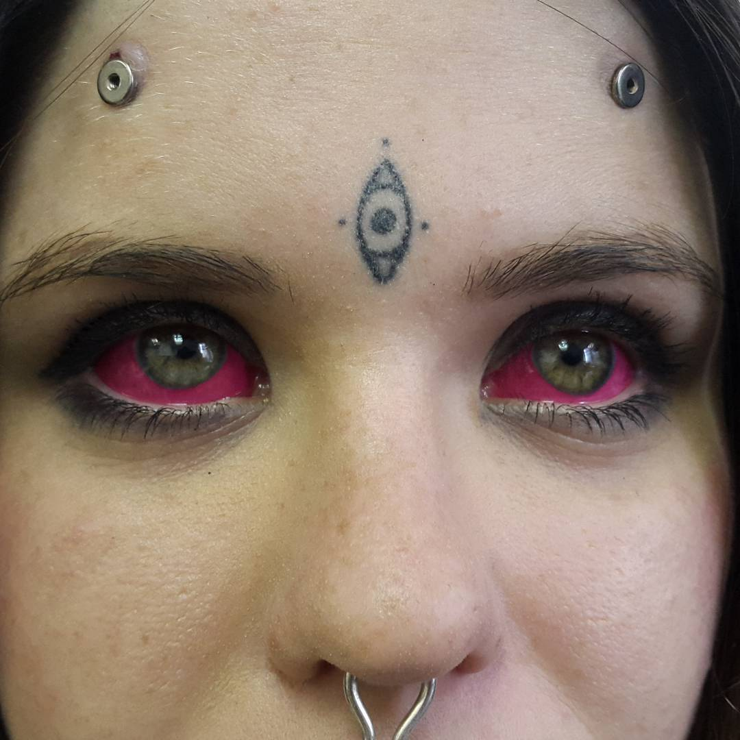Eyeball Tattooing