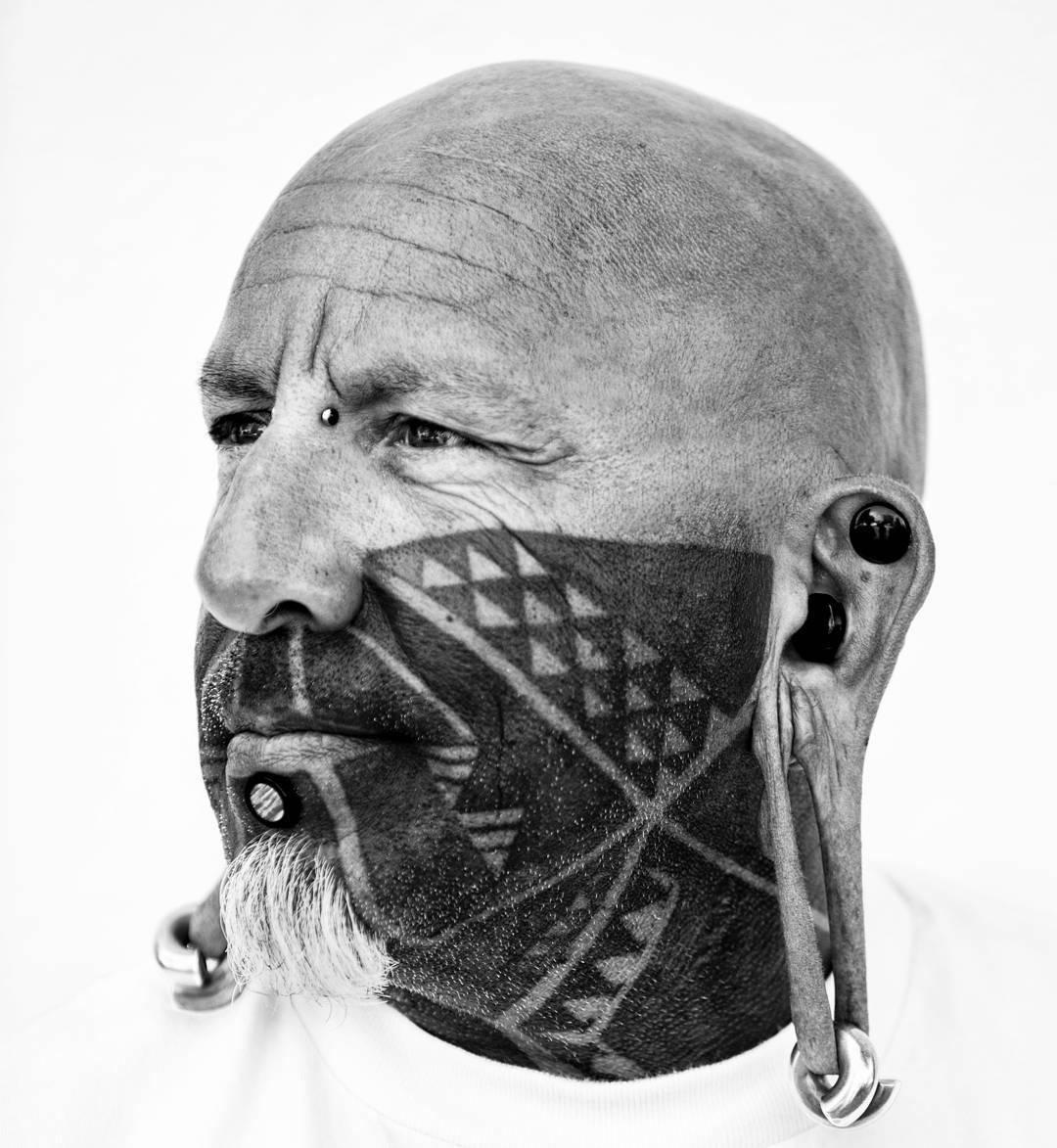 0fef68aad 65+ Best Face Tattoo Designs & Ideas - Enjoy Yourself (2019)