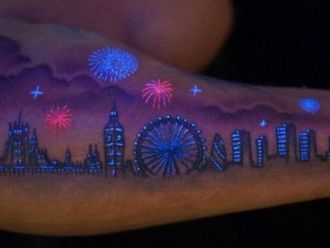 15 best glow in the dark tattoos for Uv tattoo health risks