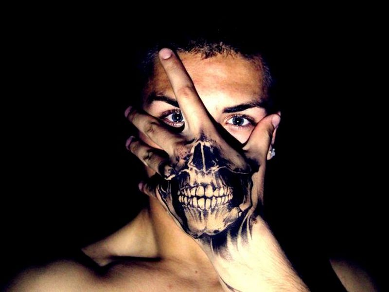 Gang With Three Dots On Hand: 75+ Best Hand Tattoo Designs