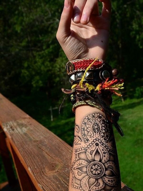 Indian tattoo