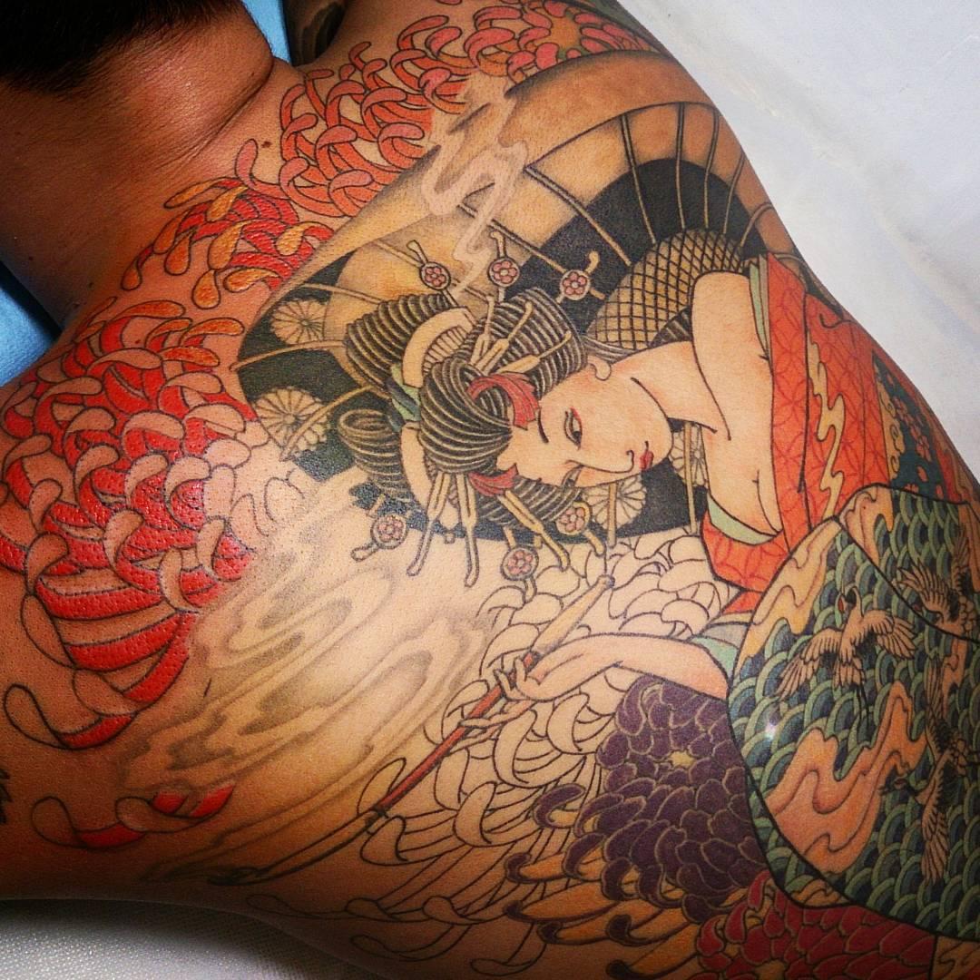 Tattoos Horimouja Japanese Tattoo Design 3500x3921: 125+ Best Japanese Style Tattoo Designs & Meanings [2019]