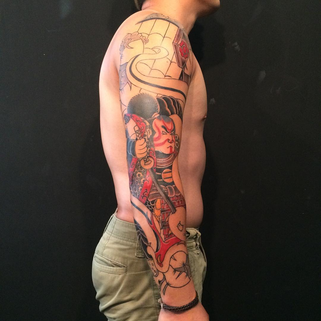 125 best japanese style tattoo designs meanings 2018 for Japanese tattoo