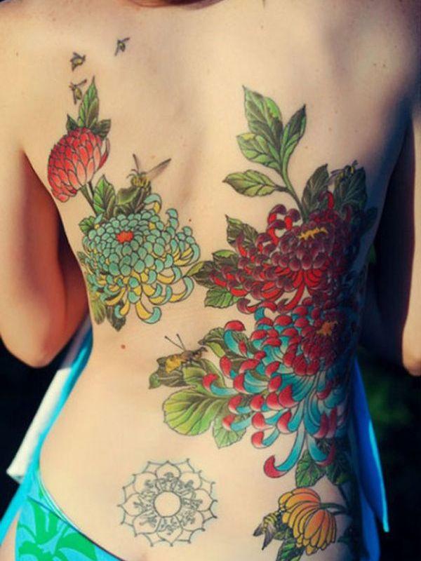 lower back tattoo