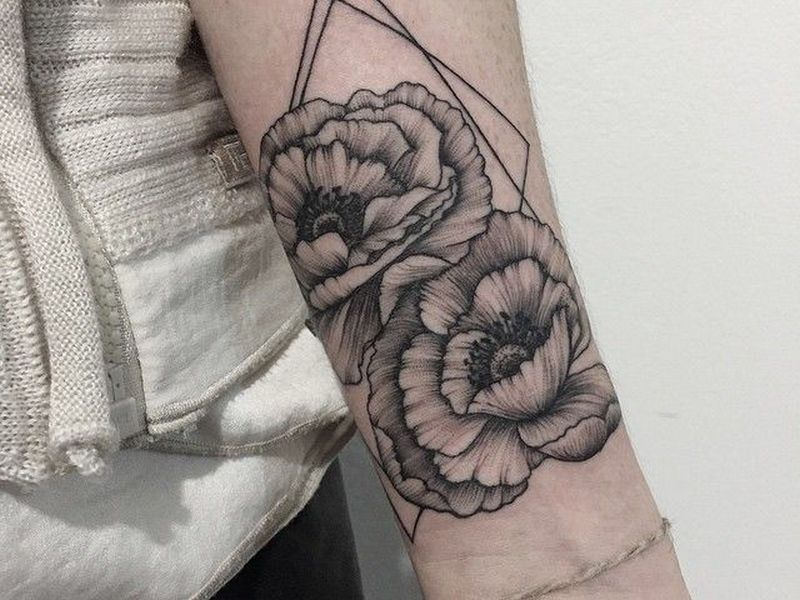 bde058417 85+ Best Peony Tattoo Designs & Meanings - Powerful & Artistic (2019)