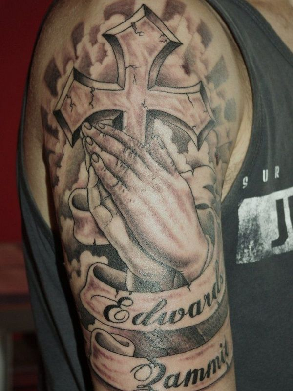 Praying Hands Tattoo