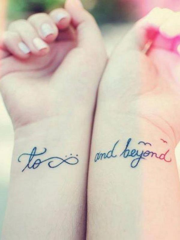 Relationship tattoo