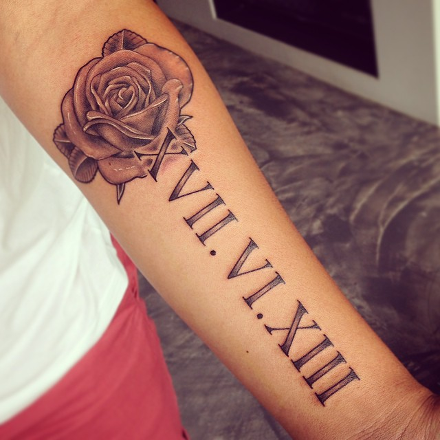 70 Best Roman Numeral Tattoo Designs Meanings Be Creative 2018
