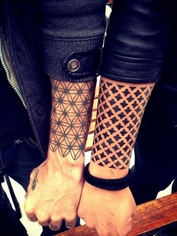 sacred geometry tattoos