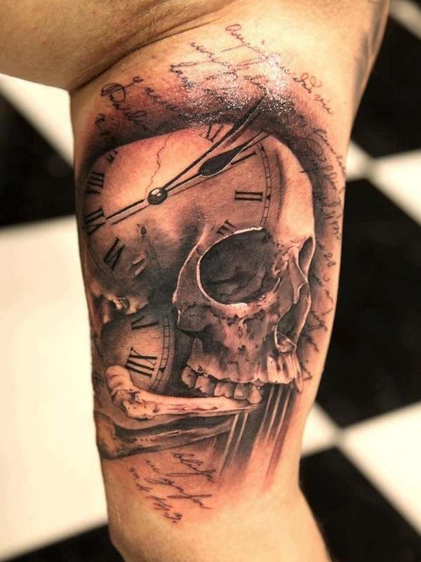 40 best skull tattoo designs for Skull tattoos meaning