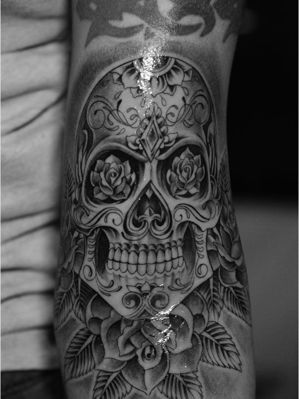 40 best skull tattoo designs. Black Bedroom Furniture Sets. Home Design Ideas