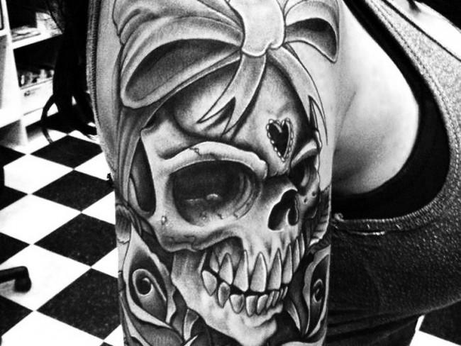 31 awesome girly skull - photo #43