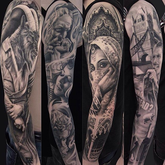 125+ Sleeve Tattoos for Men and Women Designs & Meanings - [2018]